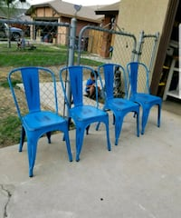 4 Brand New Rustic Metal Chairs $80 for all 4  Moreno Valley, 92551