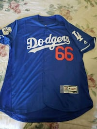 blue and white Dodgers  jersey Los Angeles, 90011