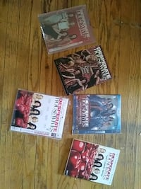 four assorted movie DVD cases Guelph