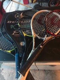 Tennis Racquets - all of them  Chantilly, 20152