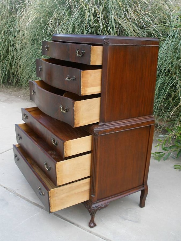 29f9602c96 Used Beautiful Joerns Bros. Furniture Mahogany Highboy for sale in ...