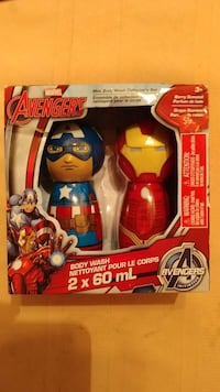 Marvel Avengers mini body wash collector's set in  Ontario, M9W