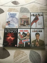 Six DVDs, age 12 Mansfield, NG19 9HD