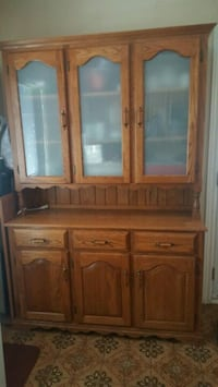 brown wooden cabinet with mirror Toronto, M6N