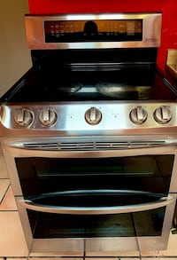stainless steel and black induction range oven Tucson, 85719