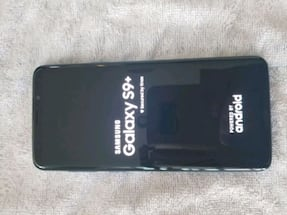 Galaxy s9+ (Blue) (Negotiable)