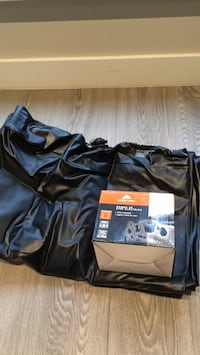 Double bed air mattress with all parts of air pump Vancouver, V5Y 2S7