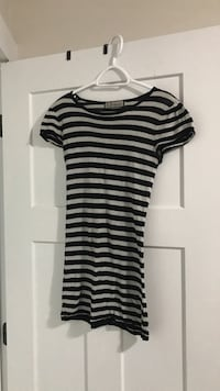 Stripped mini dress