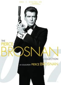 THE PIERCE BROSNAN COLLECTION DVDS
