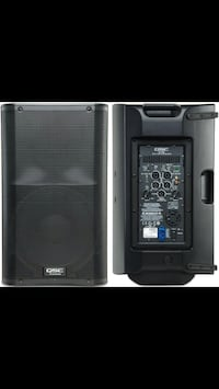 Qsc k12 x 2 bundle. Tote bag and speaker stands. 6 month old Bluffton, 29906