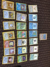 Pokemon Cards - Holos, 1st Editions, Shadowless