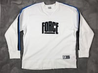 Nike Air Force Sweatshirt White Size Large Glendale, 91214
