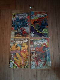 four The Amazing Spider-Man comic books Pittsburgh, 15241