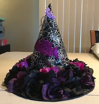 Hand made witch hat center piece. Wallkill, 12589