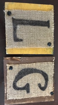 two wooden board with L and G text Pell City, 35128