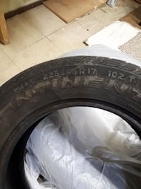 2 tires mud and snow $75.00 for pair Nanaimo, V9S 3N3