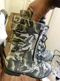 gray and black camouflage backpack Fayetteville, 28306