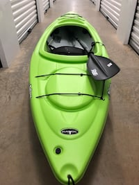 green and black kayak with paddle Tigard, 97223