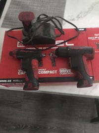 black and red Craftsman cordless power drill with box Frederick, 21702