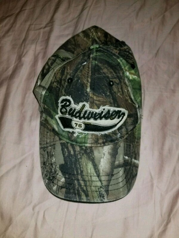 Used Budweiser hat for sale in Kalamazoo - letgo 8c5fc8437600