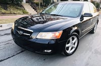 2007 Hyundai Sonata Limited Edition Very Low Miles Cream Leather No Check Engine Light Colesville