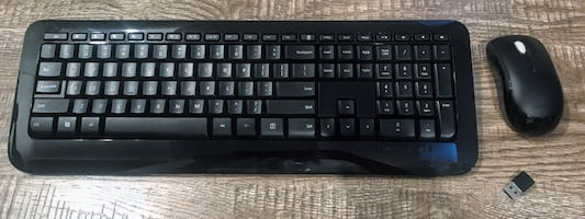 Microsoft Keyboard & Mouse (Wireless)