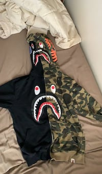Real Bape sweater camo and black Hamilton, L8R 2X5