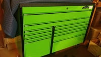 green and black tool chest Antelope, 95843