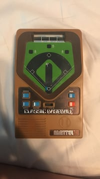 Classic Baseball Vintage Game Console Roswell, 30075