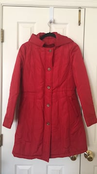 red button-up jacket Ashburn, 20147