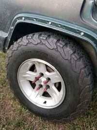 Jeep tires TRADE!