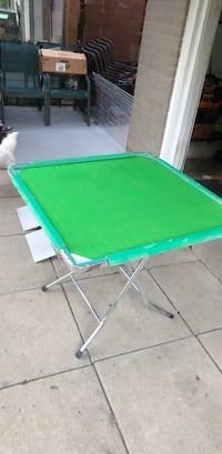 green and white folding table Toronto, M3A 2E1