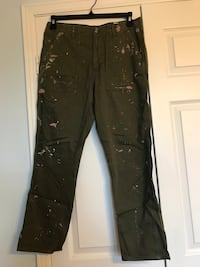 Olive Green Painter's Pants (Size 6) Toronto, M5R 1M4