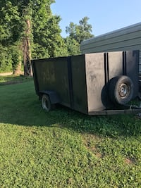 brown and black utility trailer Flat Rock, 28731