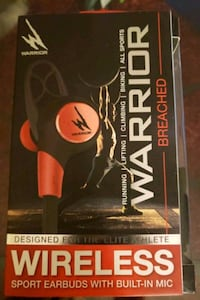 Wireless sports earbuds with built in mic