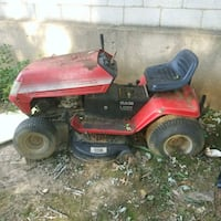 red and black riding mower Brentwood, 20722