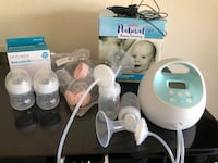 Spectra S1 breast pump & Avent bottles
