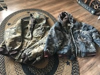 black and gray camouflage zip-up jacket Bunker Hill, 25413