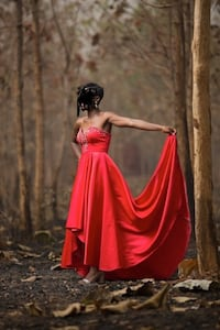 Gorgeous Red Gown Baltimore, 21239