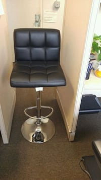 Black Leather Barstool (Adjustable and swivel) Aberdeen Proving Ground, 21005