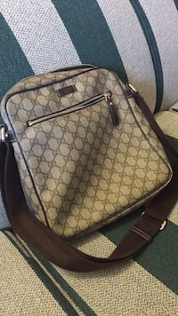 brown and black Gucci leather backpack Toronto, M1L