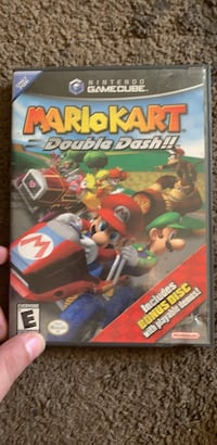 mariokart doubledash gamecube. double disc case  Columbus, 43201