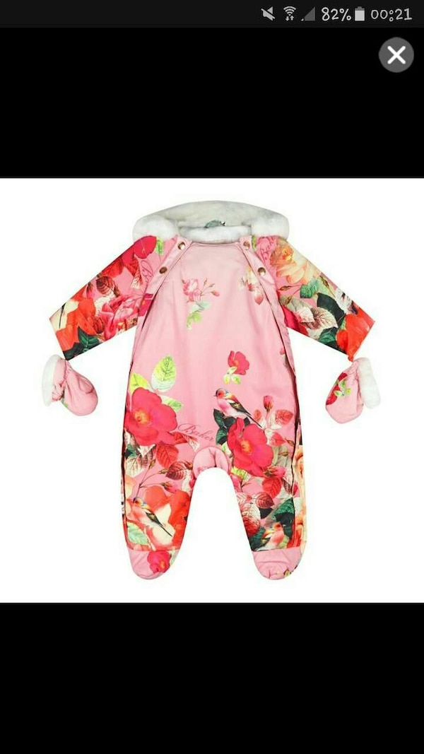582899a0d Used Ted baker girls snowsuit 6-12 months for sale in Islington - letgo