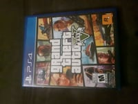 Sony PS4 Grand Theft Auto Five case Edmonton