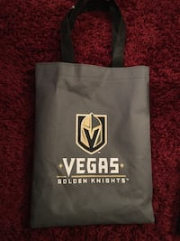 Vegas golden knights small tote bag