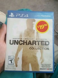 Uncharted The Nathan Drake Collection PS4 game case Mississauga, L5N 6K7
