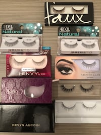 8 pairs of premium false eyelashes New York, 11377
