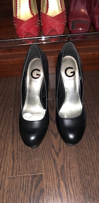 Brand new never work black guess pumps Mississauga, L5M 1C2