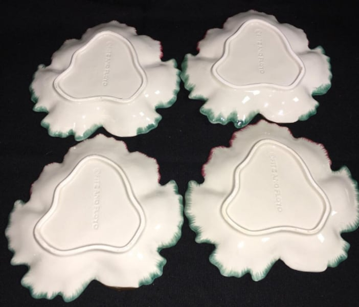 Rare Collection of Fitz & Floyed Snack / Appitizer dishes  07fb5999-59f5-4bb2-bdde-80873a01449f
