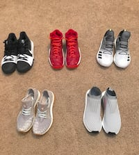 Pureboost, NMD, Kyrie, Air pippen 1, Harden Vol 2 Maple Ridge, V2X 9V3